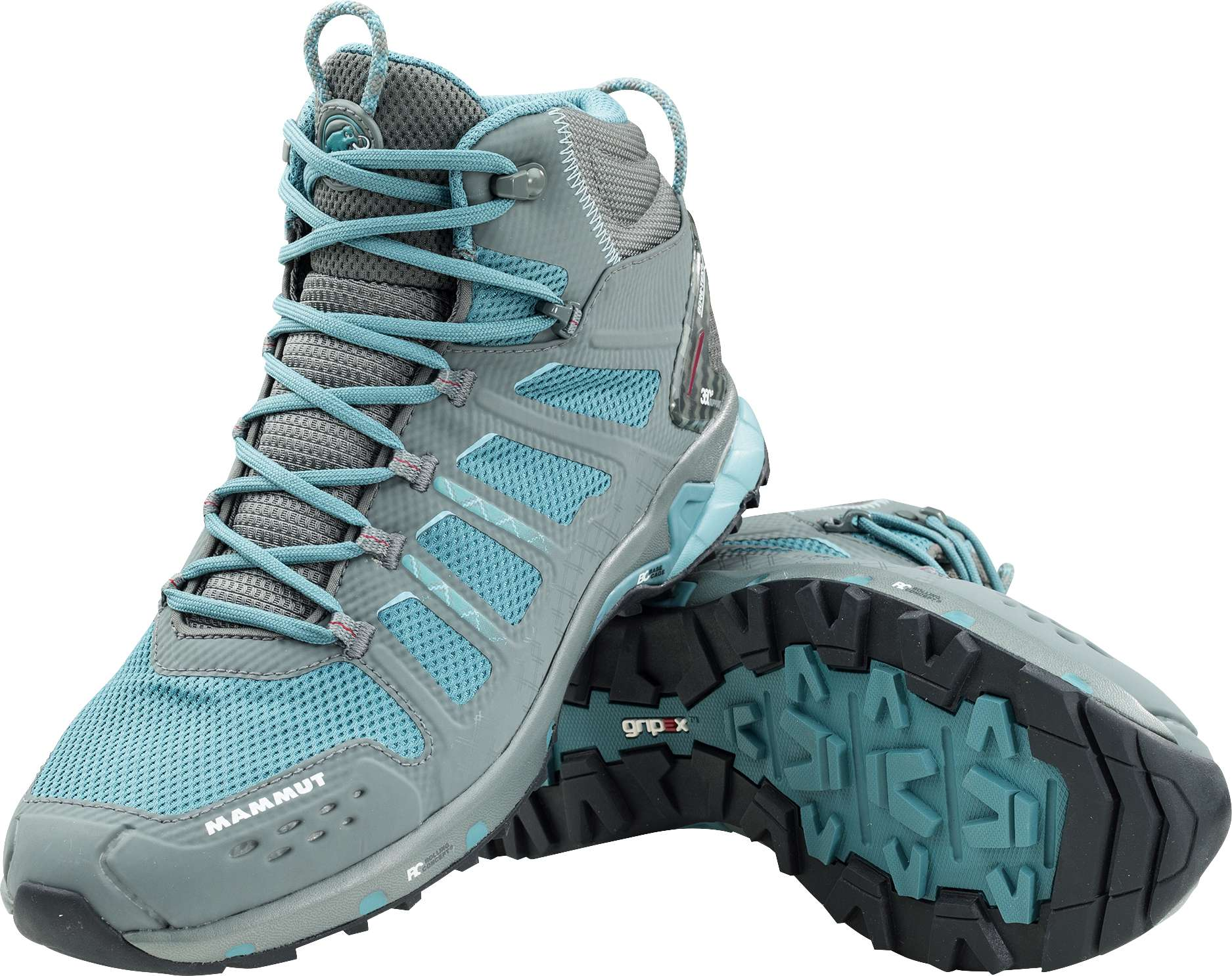 Mammut T Aenergy High GTX Women (grey-dark air / EU 38.5 - UK 5.5) mjEIlfG